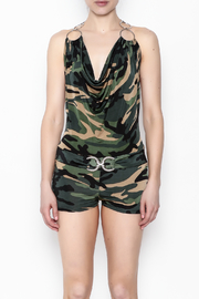 demore Camofluage Romper - Front full body