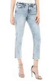 Liverpool Jean Company Cropped denim with frayed hem - Product Mini Image
