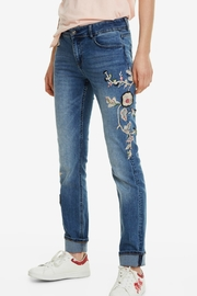 DESIGUAL Denim Barcelona Flowers - Product Mini Image