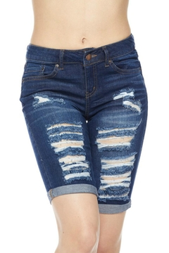 Minx Denim Bermuda Shorts - Product List Image