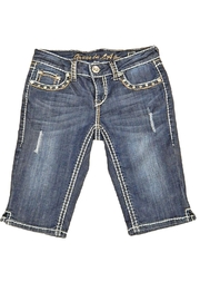 Grace in L.A. Denim Bermuda Shorts - Product Mini Image