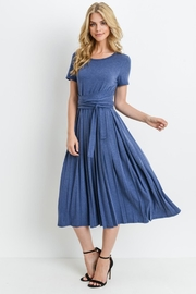 Les Amis Denim Blue Dress - Product Mini Image