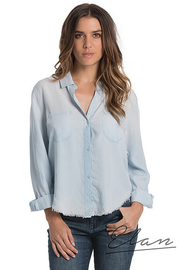 Elan Denim Blue Top - Product Mini Image