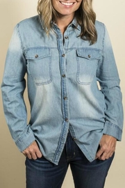 Boho Jane Denim Button Down - Product Mini Image
