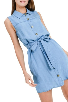 ALB Anchorage Denim Button-Down Dress - Product List Image