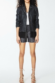 Nicole Miller Denim Combo Jacket - Front cropped