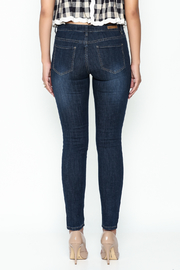 Denim Couture Dark Jeans - Back cropped