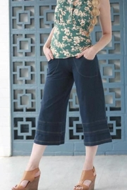 Effie's Heart Denim Cropped Pants - Product Mini Image