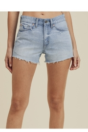 just black Denim Cutoffs Light Blue - Product Mini Image
