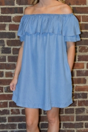 Wishlist Denim Dress - Product Mini Image