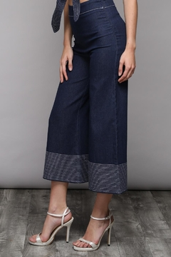 Shoptiques Product: Denim Flare Pants