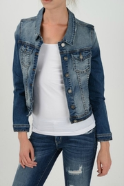 KanCan Denim Jacket - Front cropped