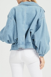 Hello Miss Denim Jacket - Side cropped
