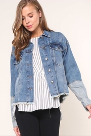 Mustard Seed Denim Jacket - Product Mini Image