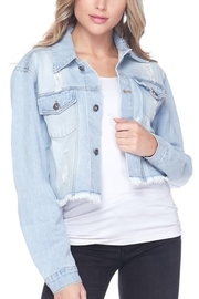 Love Tree Denim Jacket - Product Mini Image