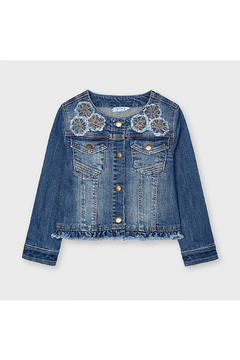 Shoptiques Product: Denim Jacket With Applique