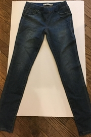 Tractr Denim Jegging - Front cropped