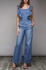Do & Be Denim Jumpsuit - Product Mini Image