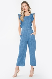 Sugar Lips Denim Jumpsuit - Front cropped