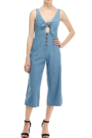 it's me Denim Knot Jumpsuit - Product Mini Image