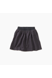Tea Collection Denim-Like French Terry Skirt - Front cropped