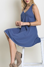 People Outfitter Denim Look Dress - Product Mini Image