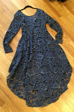 Adore Denim/mesh Dress - Product List Image