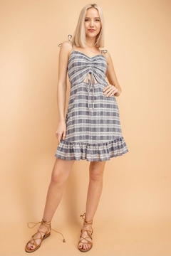 lelis Denim Mini Dress - Product List Image