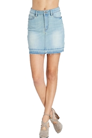 Wishlist Denim Mini Skirt - Product Mini Image