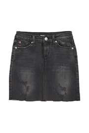 Hudson Jeans Denim Mini Skirt - Front cropped