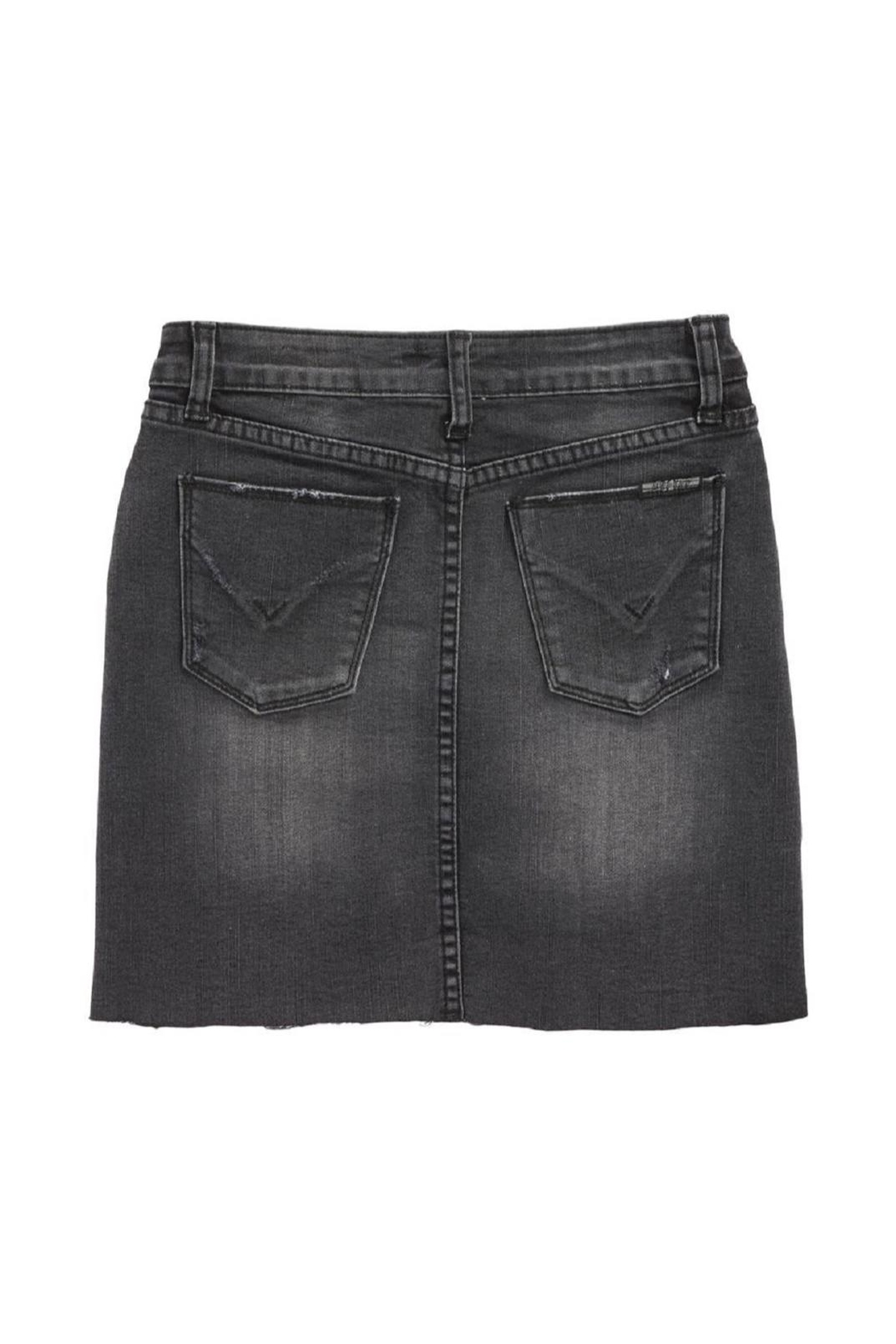 Hudson Jeans Denim Mini Skirt - Front Full Image