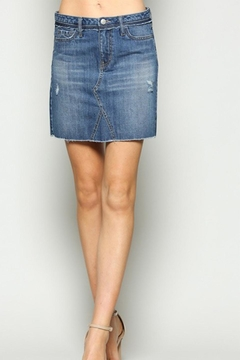 Shoptiques Product: Denim Mini Skirt