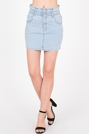Uniq Denim Mini Skirts - Product Mini Image