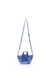 America and Beyond Denim Mini Tote - Side cropped