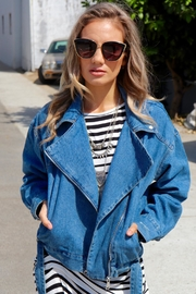 Minx Denim Motto Jacket - Product Mini Image