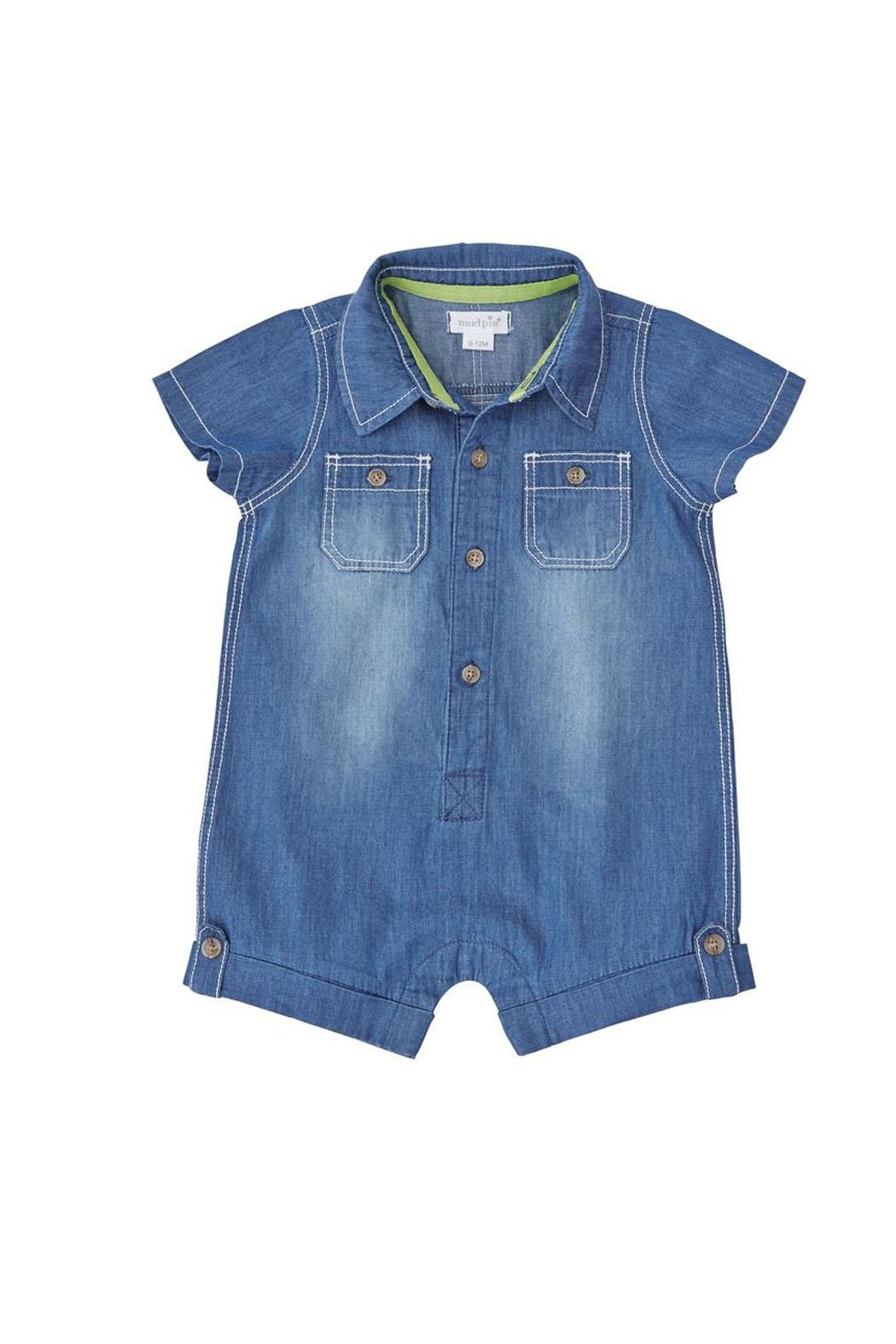MUDPIE Denim One Piece - Main Image