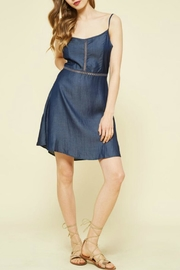 Promesa USA Denim Open-Back Dress - Product Mini Image
