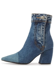 Jeffrey Campbell Denim Patchwork Bootie - Product Mini Image