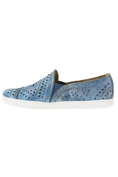 Earth Denim Perforated Sneaker - Product List Image