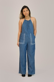 Patrons of Peace Denim Pocket Jumpsuit - Product Mini Image