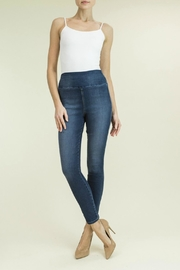 Level 99 Denim Pull-On Pant - Front cropped