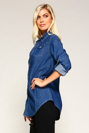 Racine Denim Shirt - Back cropped