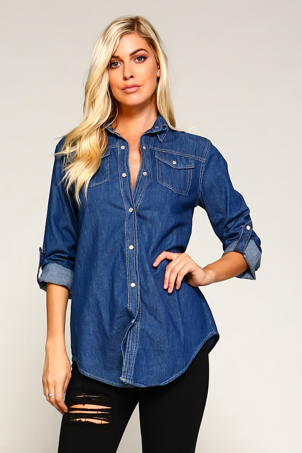 Racine Denim Shirt - Main Image