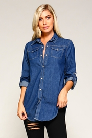 Racine Denim Shirt - Side cropped