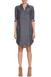 Elan Denim Shirt Dress - Product Mini Image