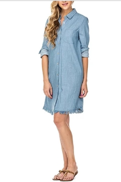 Joy Joy Denim Shirtdress - Alternate List Image
