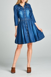 Racine Denim Shrit Dress - Product Mini Image
