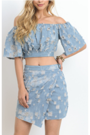 Hommage Denim Skirt Set - Product Mini Image