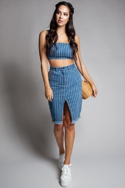 Latiste Denim Skirt Set - Product Mini Image