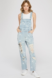 Dance & Marvel Denim Star Overall - Product Mini Image